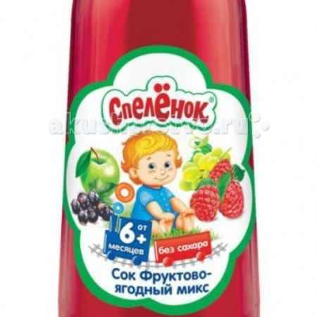 Купить Спеленок Сок Фруктово-ягодный микс с 6 мес. 200 мл