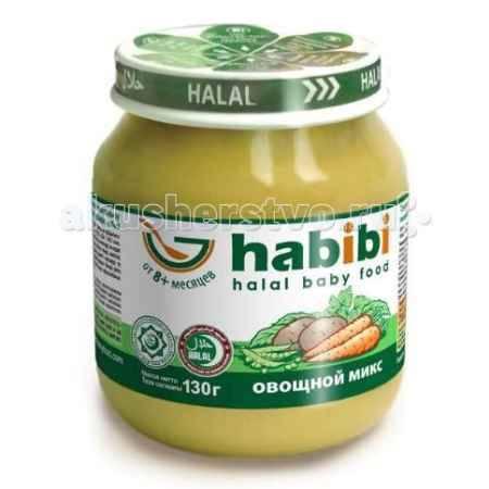 Купить Habibi Пюре Овощной микс 130 г