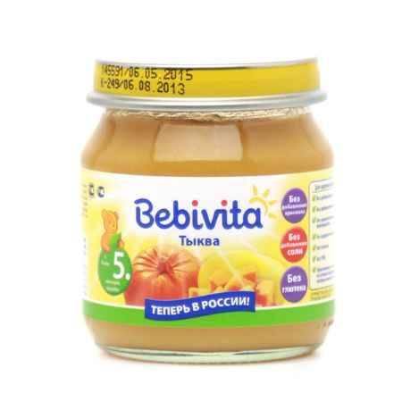 Купить Bebivita Пюре Тыква с 5 мес.100 г
