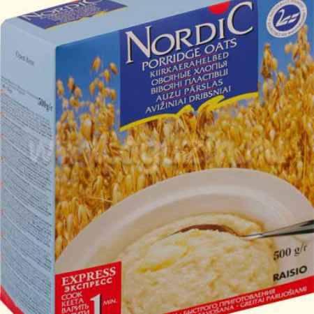 Купить Nordic Безмолочная каша Овсяные хлопья 500 г