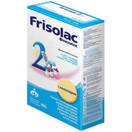 Купить Friso Заменитель Фрисолак с нуклеотидами 400 г 6-12 мес.(картон)