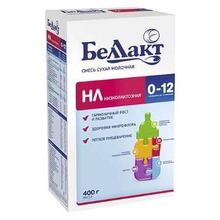 Купить Беллакт Смесь сухая молочная низколактозная НЛ 400 г