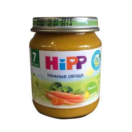 Купить Hipp Пюре Нежные овощи с 7 мес., 125 г