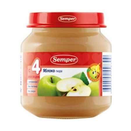 Купить Semper Пюре Яблоко с 4 мес., 125 г