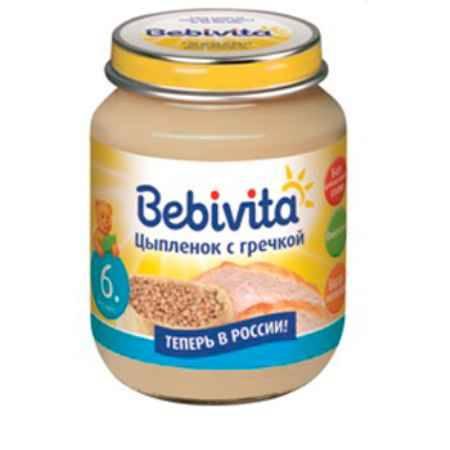 Купить Bebivita Пюре Цыпленок с гречкой с 6 мес. 100 г