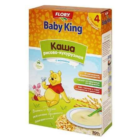 Купить Baby King Рисово-кукурузная каша с адаптированным молоком