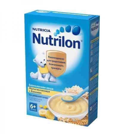 Купить Nutrilon Каша мультизлаковая с бананом безмолочная с 6 мес. 200 г