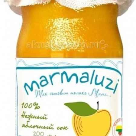 Купить Marmaluzi Сок нежный яблочный с 4 мес. 200 мл