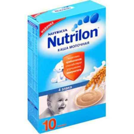 Купить Nutrilon Молочная каша 4 злака с 10 мес. 225 г