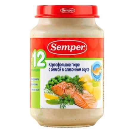 Купить Semper Пюре Картофельное с семгой в сливочном соусе с 12 мес., 190 г