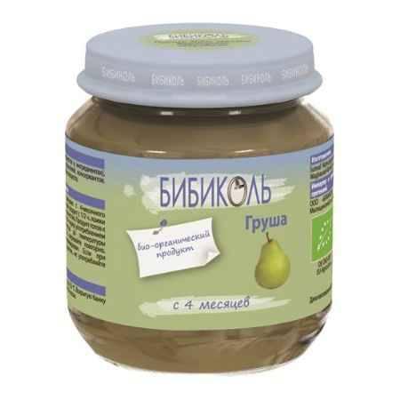 Купить Бибиколь Органическое пюре Груша с 4 мес. 125 г