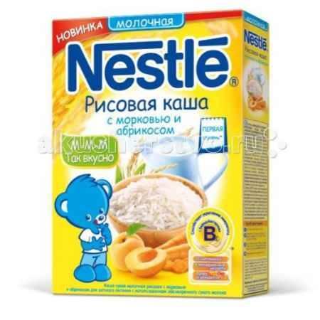 Купить Nestle Каша молочная Рисовая с морковью и абрикосом, 250г