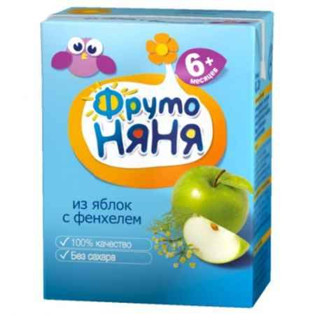 Купить ФрутоНяня Напиток из яблок с фенхелем с 6 мес., 200 мл (тетра пак)