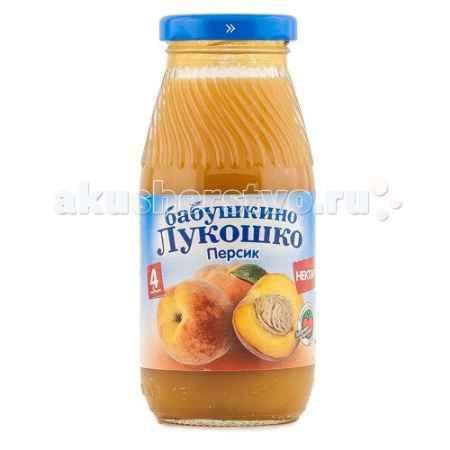 Купить Бабушкино лукошко Нектар Персик с 4 мес. 200 мл