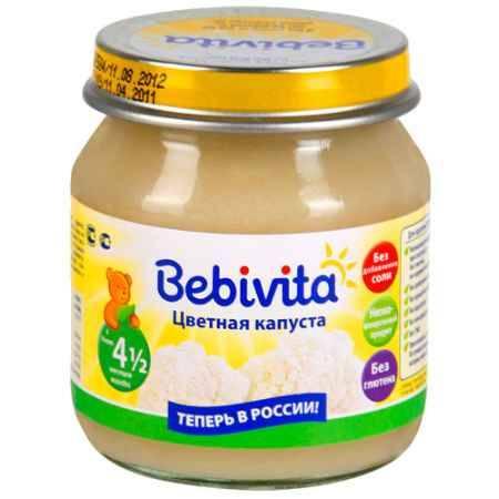 Купить Bebivita Пюре Цветная капуста с 4.5 мес. 100 г