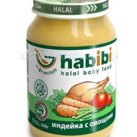 Купить Habibi Пюре Индейка с овощами 200 г