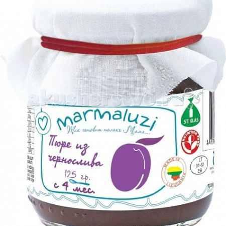 Купить Marmaluzi Пюре из чернослива с 4 мес. 125 г