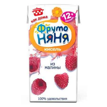 Купить ФрутоНяня Кисель из малины с 12 мес., 200 мл (тетра пак)