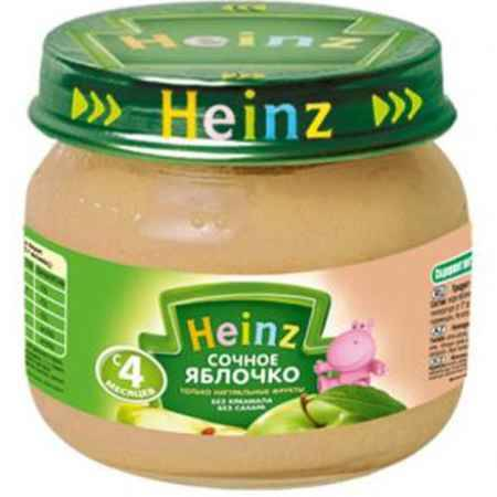 Купить Heinz Пюре Сочное яблочко с 4 мес., 80 г