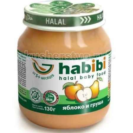 Купить Habibi Пюре Яблоко и груша 130 г