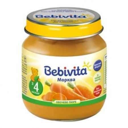 Купить Bebivita Пюре Морковь с 4 мес. 100 г