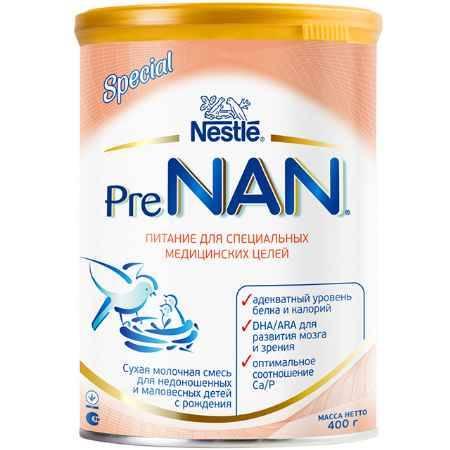 Купить NAN Заменитель Pre для маловесных детей с рождения 400 г