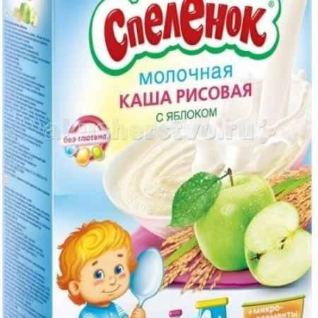 Купить Спеленок Каша Рисовая с яблоком молочная c 4 мес. 250 г