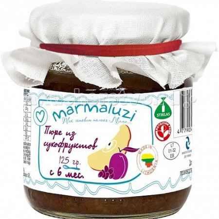 Купить Marmaluzi Пюре из сухофруктов с 6 мес. 125 г