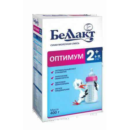 Купить Беллакт Сухая молочная смесь Оптимум 2+ 400 г