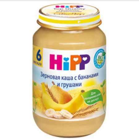 Купить Hipp Зерновая каша с бананами и грушами 190 гр
