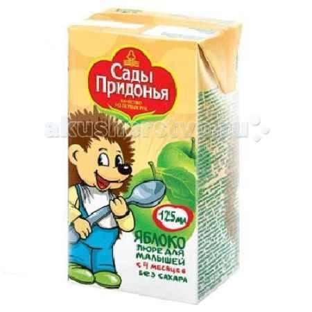 Купить Сады Придонья Пюре яблоко с 4 мес. 125 г