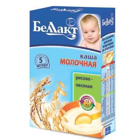 Купить Беллакт Рисово-овсяная каша молочная с 5 мес., 250 г