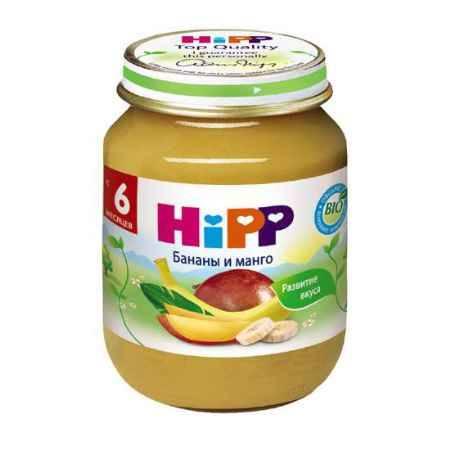 Купить Hipp Пюре Бананы и манго с 6 мес., 125 г
