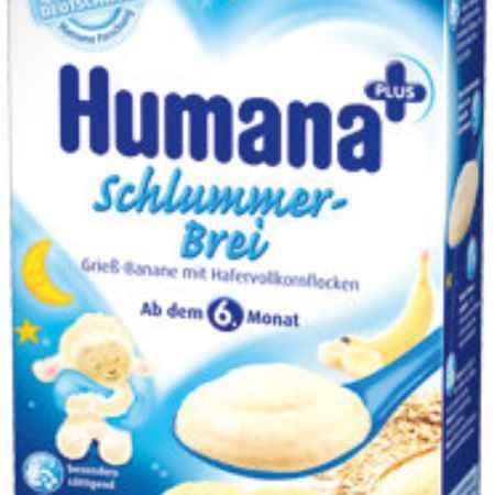 Купить Humana Вечерняя мультизлаковая молочная каша с бананом с 6 мес. 250 г