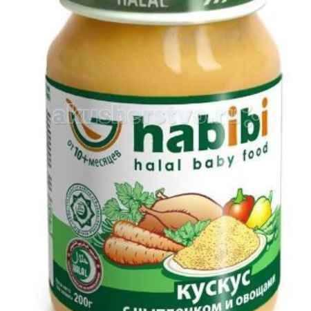 Купить Habibi Пюре Кускус с цыпленком и овощами 200 г