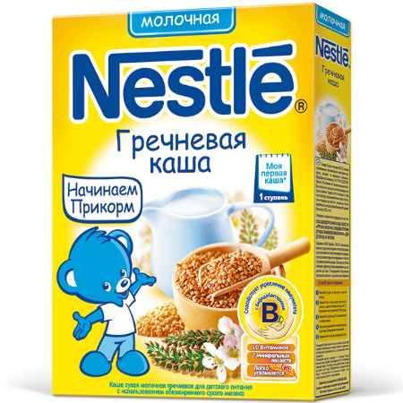 Купить Nestle Гречневая молочная каша с 4 мес. 250 г