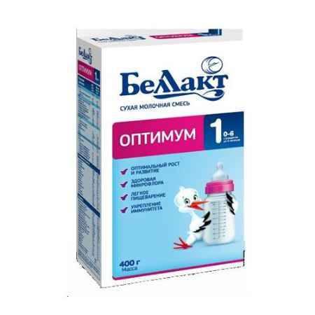 Купить Беллакт Сухая молочная смесь Оптимум 1 400 г
