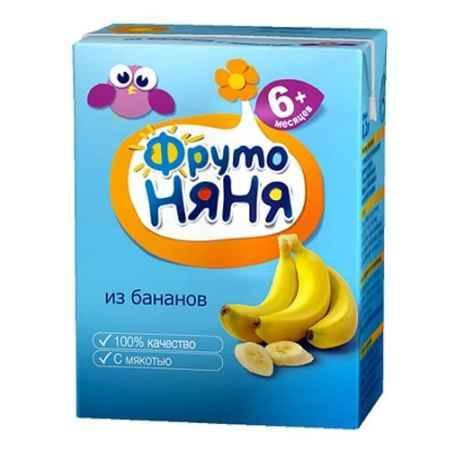 Купить ФрутоНяня Нектар из бананов с мякотью с 9 мес., 200 мл (тетра пак)