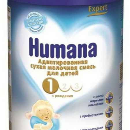 Купить Humana Заменитель Expert 1 с рождения 350 г
