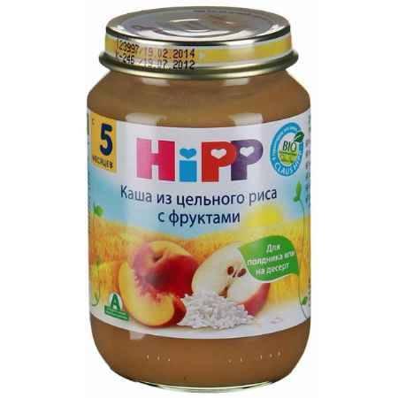 Купить Hipp Каша из цельного риса с фруктами с 5 мес., 190 г
