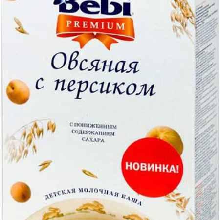 Купить Bebi Овсяная молочная каша Premium с персиком с 5 мес. 250 г