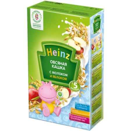Купить Heinz Овсяная молочная кашка с яблоком с 5 мес. 250 г