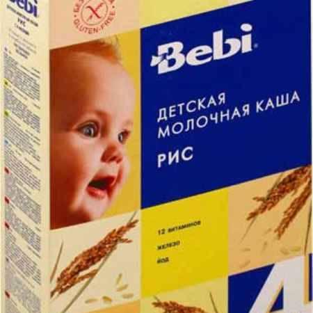 Купить Bebi Рисовая молочная каша с 4 мес. 250 г