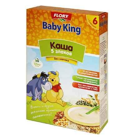 Купить Baby King Безмолочная 5 злаков