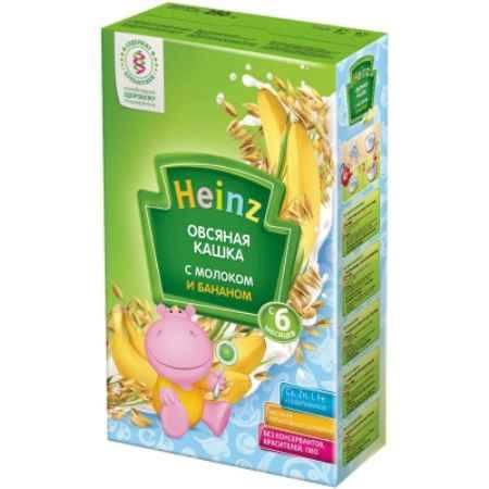 Купить Heinz Овсяная молочная кашка с бананом с 5 мес. 250 г