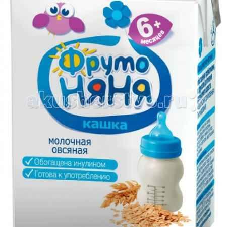 Купить ФрутоНяня Кашка Молочно-овсяная жидкая с 6 мес. 200 мл