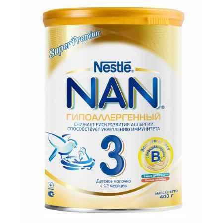 Купить NAN Заменитель Гипоаллергенный 3 с 12 мес. 400 г