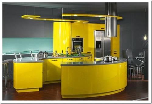 Планирование кухни: расположение главных рабочих поверхностей