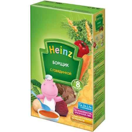 Купить Heinz Борщик с говядинкой с 8 мес. 160 г