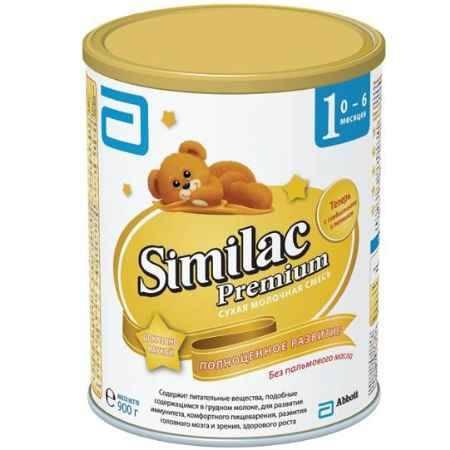 Купить Similac Молочная смесь 1 Premium 0-6 мес. 900 г